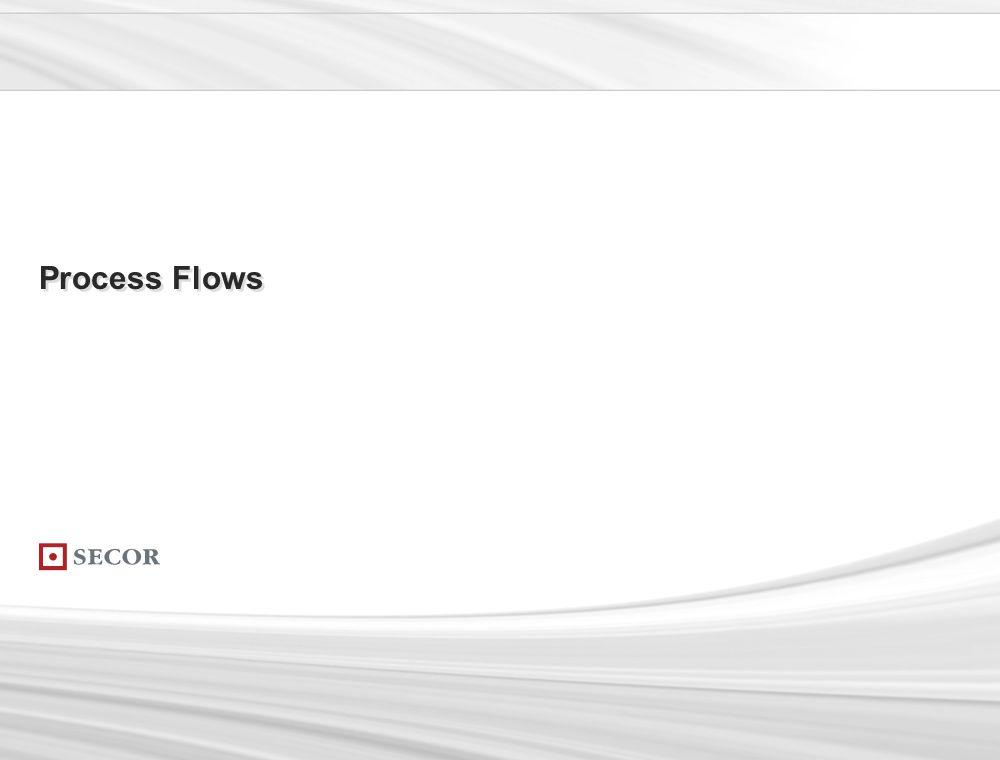 . 91. Process Flows