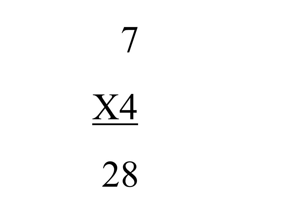 7 X4 28