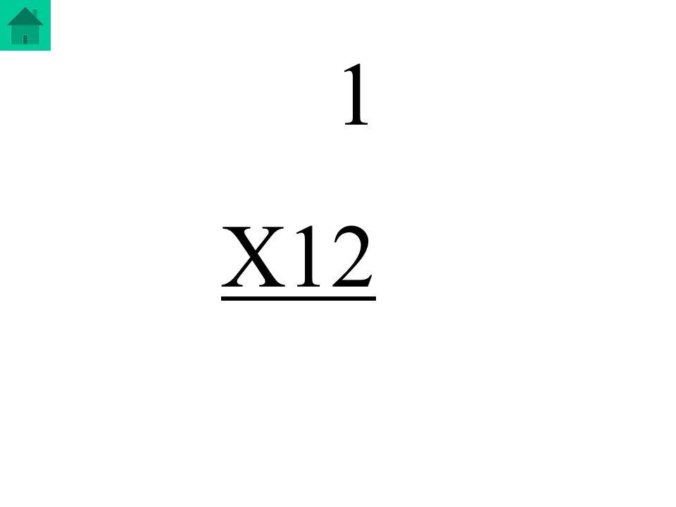 1 X12