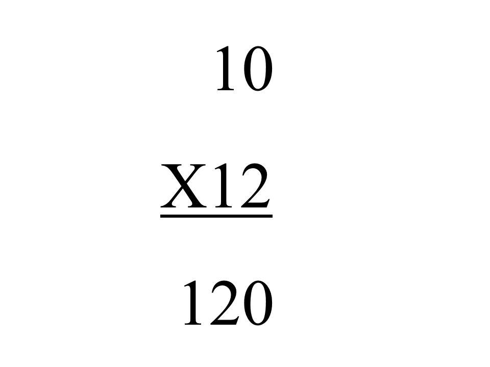 10 X12 120