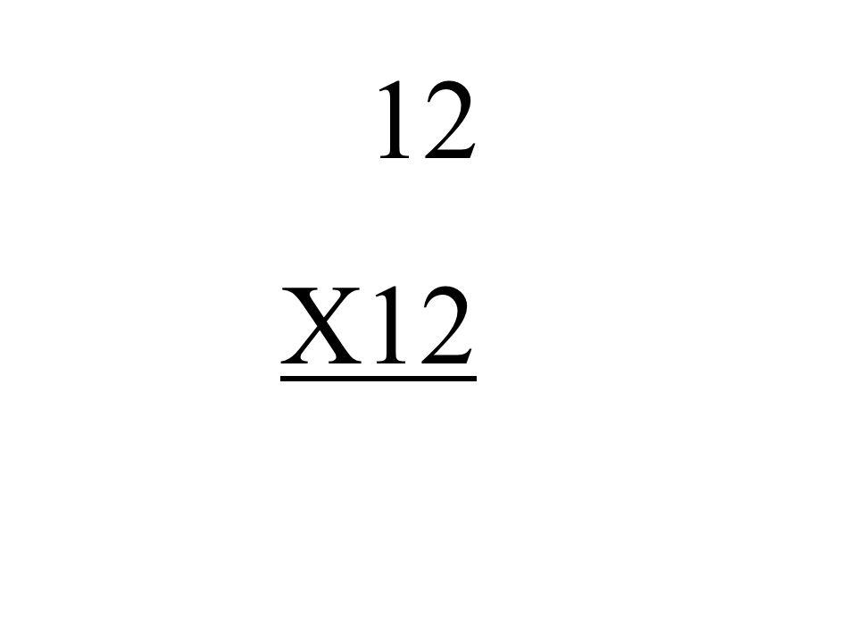 12 X12