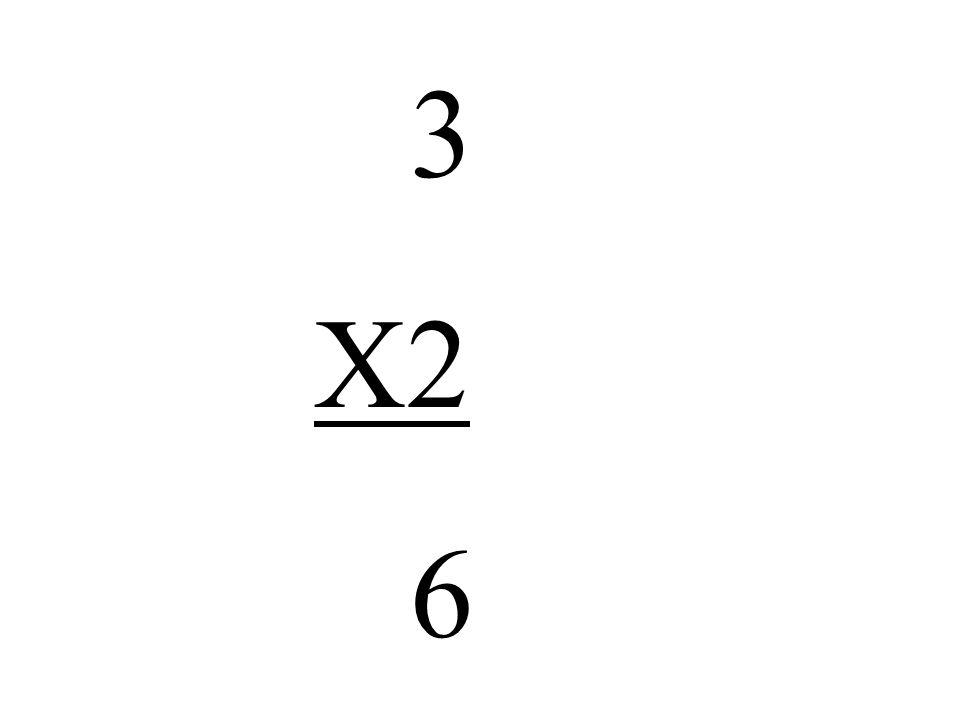 3 X2 6