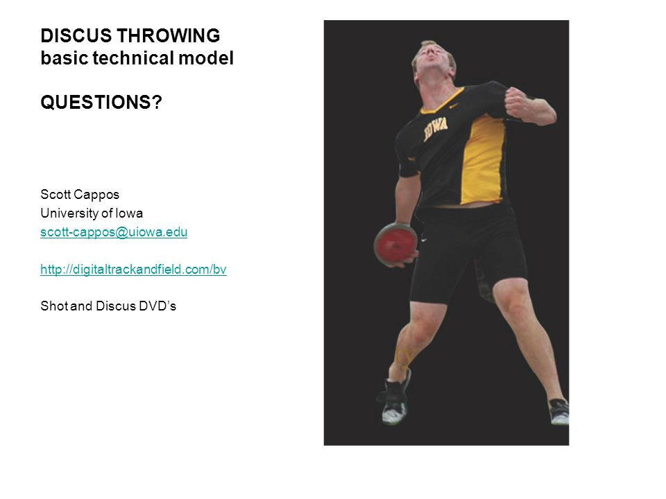 DISCUS THROWING basic technical model QUESTIONS.