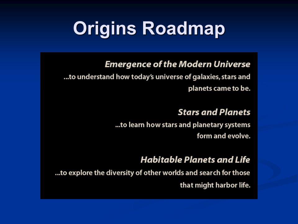 Origins Roadmap