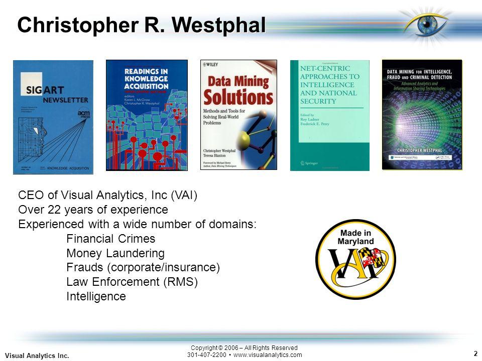 2 Visual Analytics Inc.