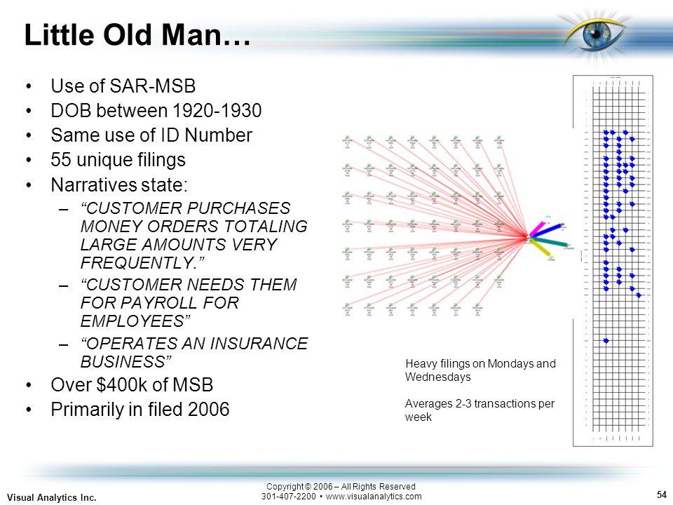 54 Visual Analytics Inc.