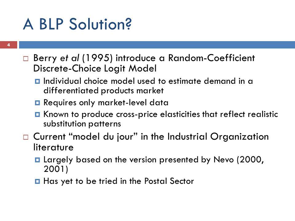 A BLP Solution.