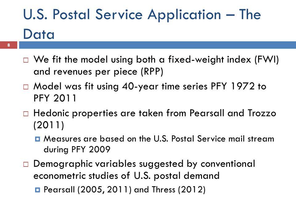 Postal Application-Definitions 9