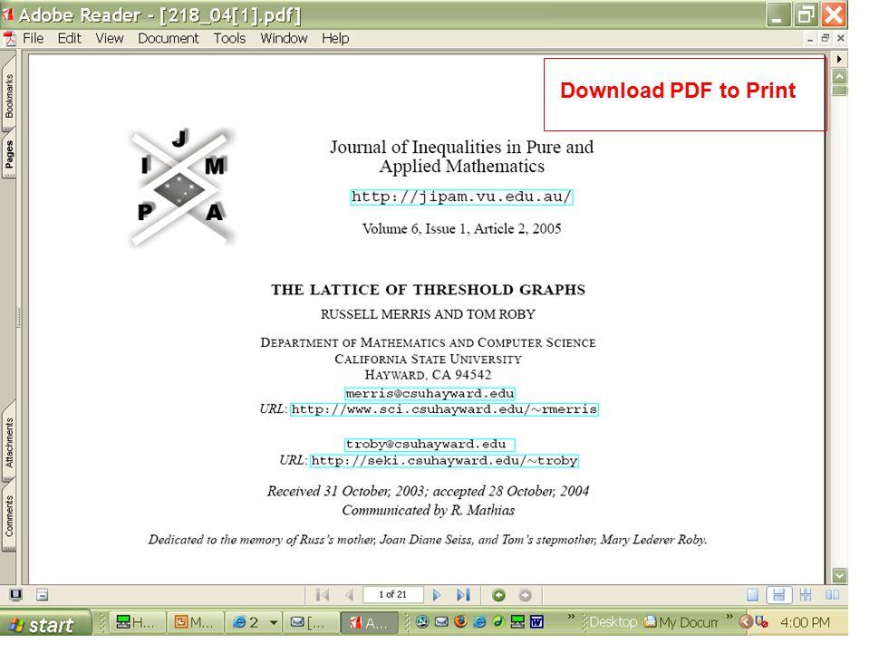 Download PDF to Print