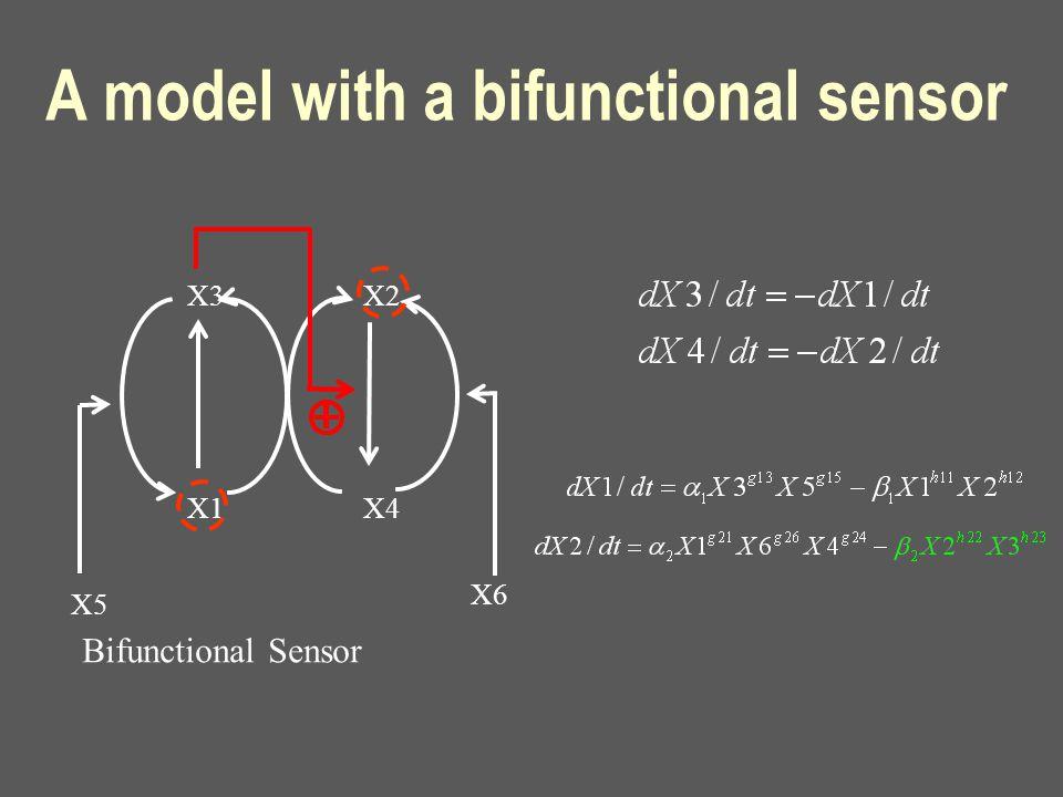 X3 X1 X2 X4 X5 X6 A model with a bifunctional sensor Bifunctional Sensor