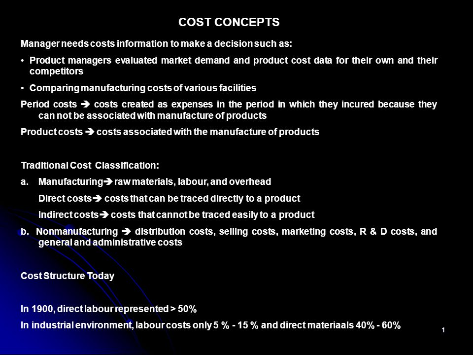 2 Activity Based Analysis of Costs MANUFACTURING Overhead Costs  Indirect cost of transforming raw materials into finished product Type of Production Activities; a.Unit related activities  those whose volume or level is associated with number of units produced  DLH, manchine hours, and quality inspector related to number of unit produced b.Bacth related activities  related to number of batch produced  Machine set up, costs of materials handling, and first time quality inspection c,.
