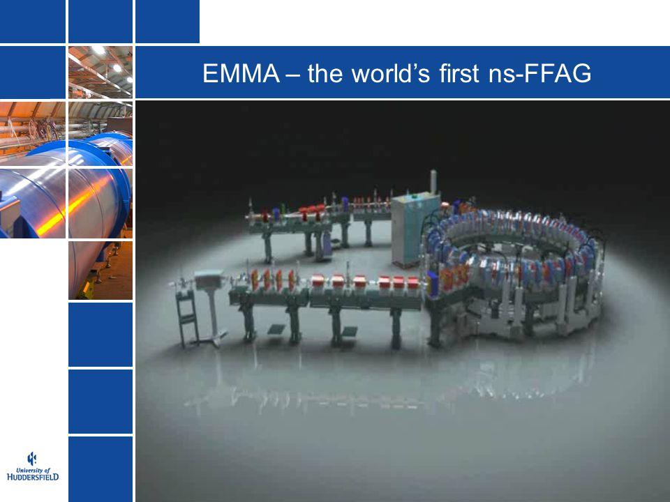 EMMA – the world's first ns-FFAG