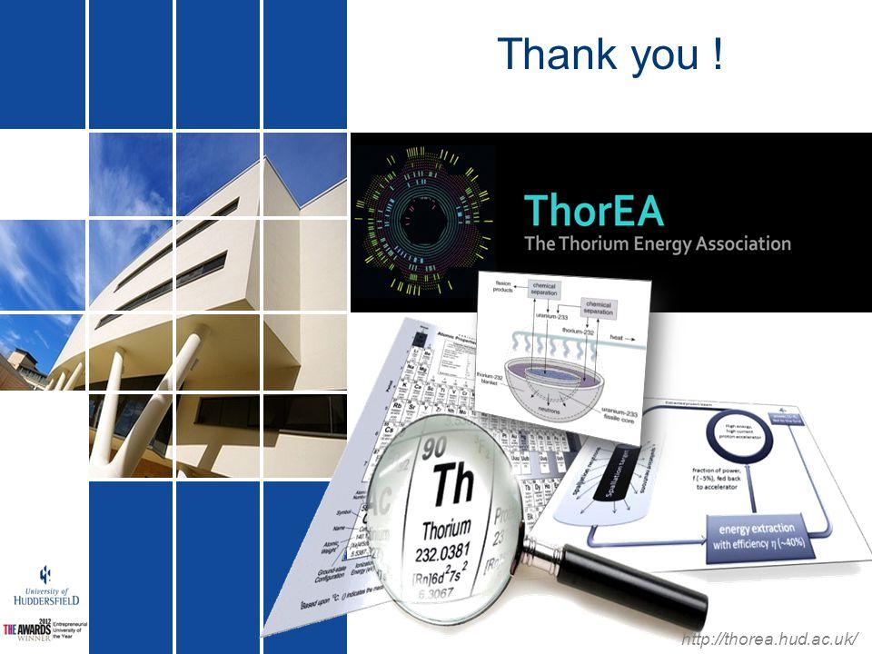 Thank You! Thank you ! http://thorea.hud.ac.uk/