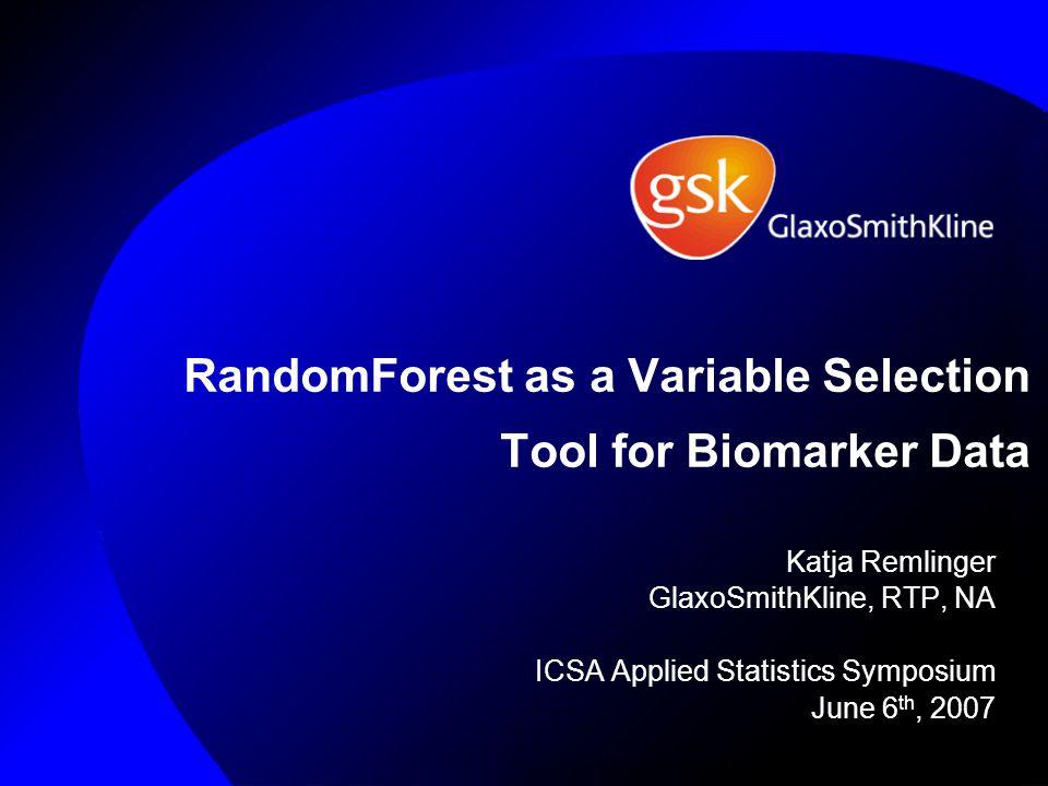 Making Prediction with RandomForest New Sample M1, M2, …., Mp Tree 1 Tree 2 Tree3 Tree 5000 …….