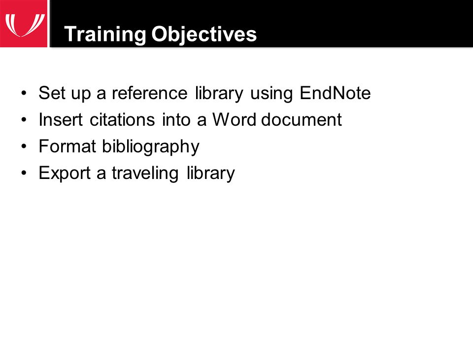 Build a reference library using EndNote X5 Open EndNote File New –Select Save as Package –Name your library and save to a location you remember.