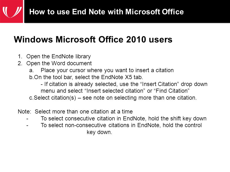 Macintosh-Microsoft Office 2011 documents If CWYW (cite while you write) is turned on, the document is formatted when new citations are inserted.