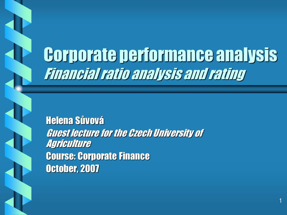 22 Credit rating – external, internal 2) Financial risk2) Financial risk – – Accounting – – Corporate governance/Risk – –tolerance/Financial policies – – Cash-flow adequacy – – Capital Structure/Asset Protection – – Liquidity/Short-term factors b Ratings widely accepted by the financial markets.