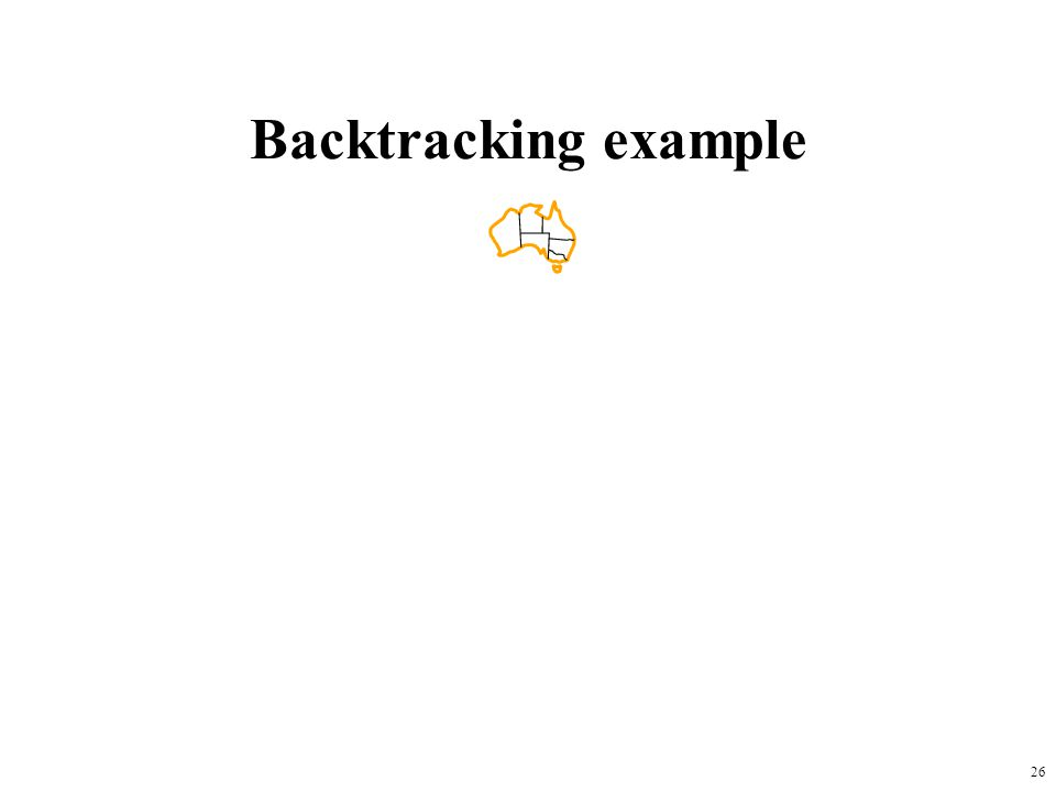 26 Backtracking example