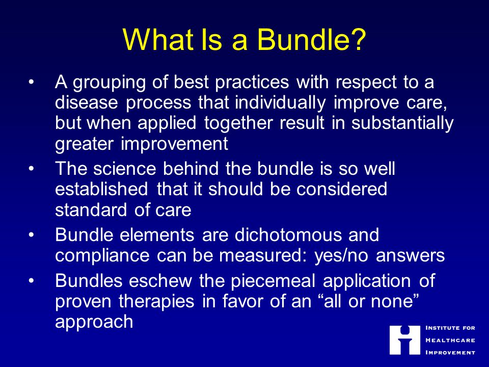 What Is a Bundle.