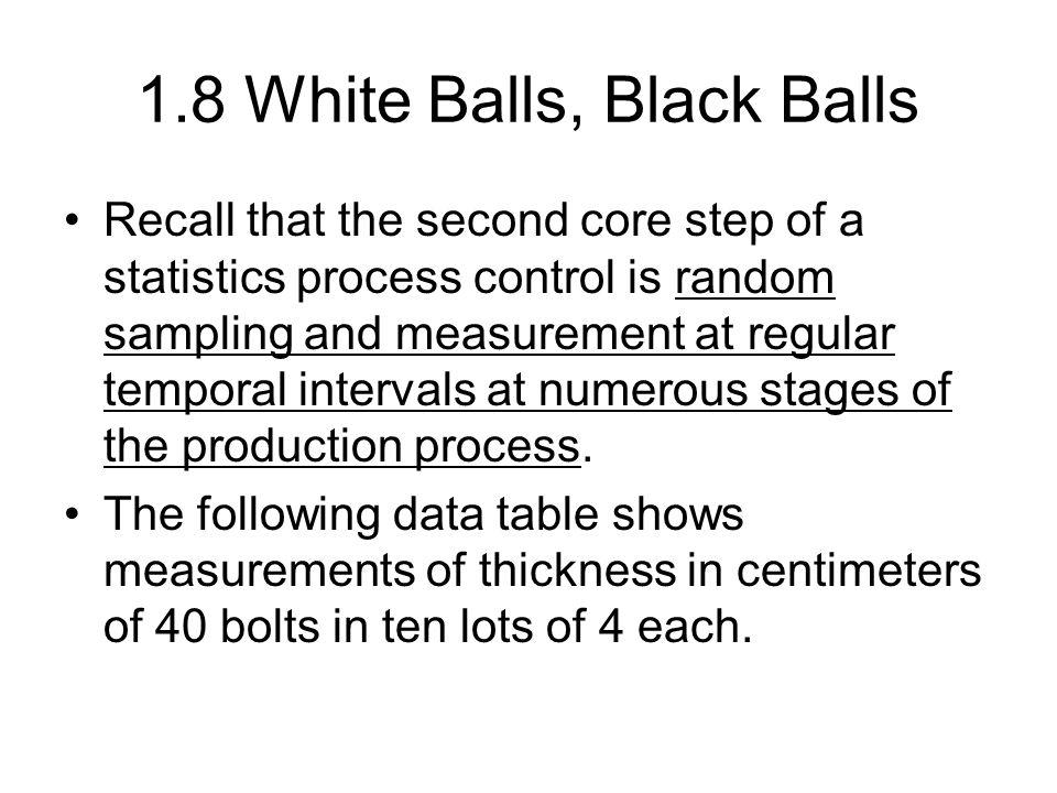 Data means2; set table3_6; sum + mean(of x1-x5); m = sum/Lot; R2 = sqrt(Lot*5)/0.1*(m-10); LCL = -3; UCL = 3; Keep Lot sum m R2 LCL UCL; Run; proc print; run; symbol1 v = dot c = black r = 1; symbol2 v = dot c = red r = 1; symbol3 v = dot c = red r = 1; proc gplot data = means2; plot (R2 LCL UCL)*Lot/overlay; label R2 = R2 statistic ; run; quit; Shewhart CUSUM Charts