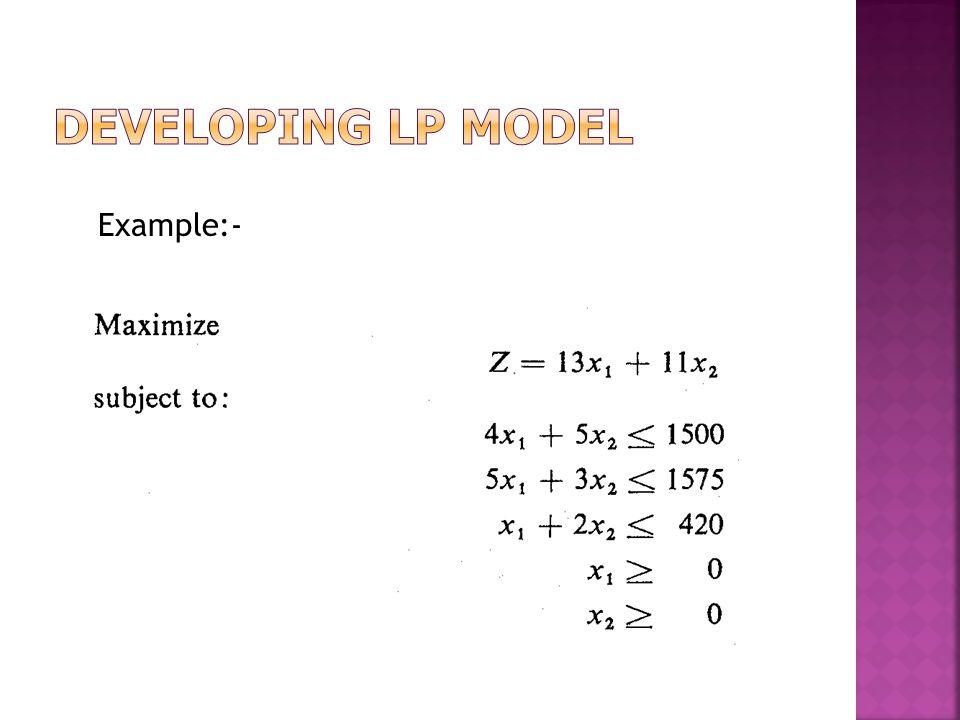 Example:-