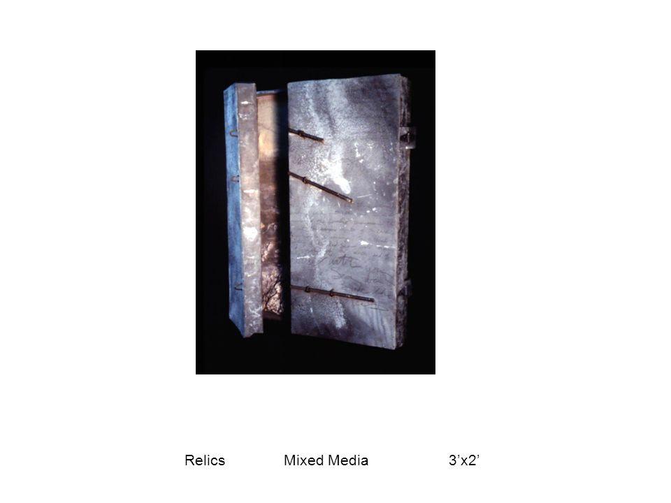 Relics Mixed Media 3'x2'