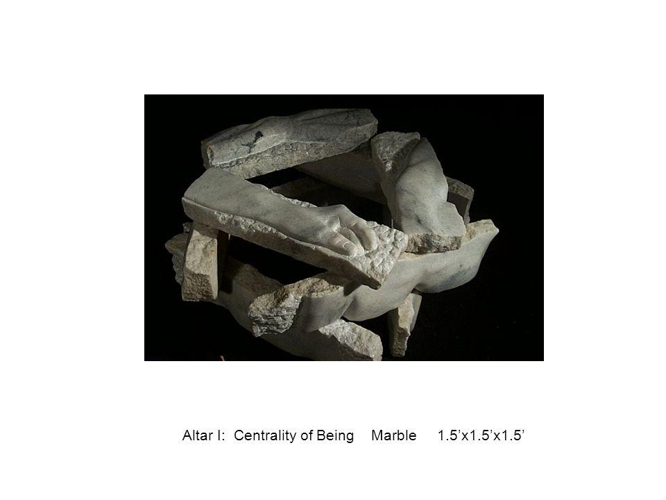 Altar II: Community: The Ark & The Crucible Marble 20 x20 x24