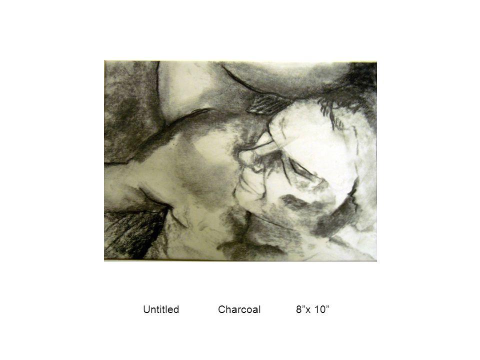 "Untitled Charcoal 8""x 10"""