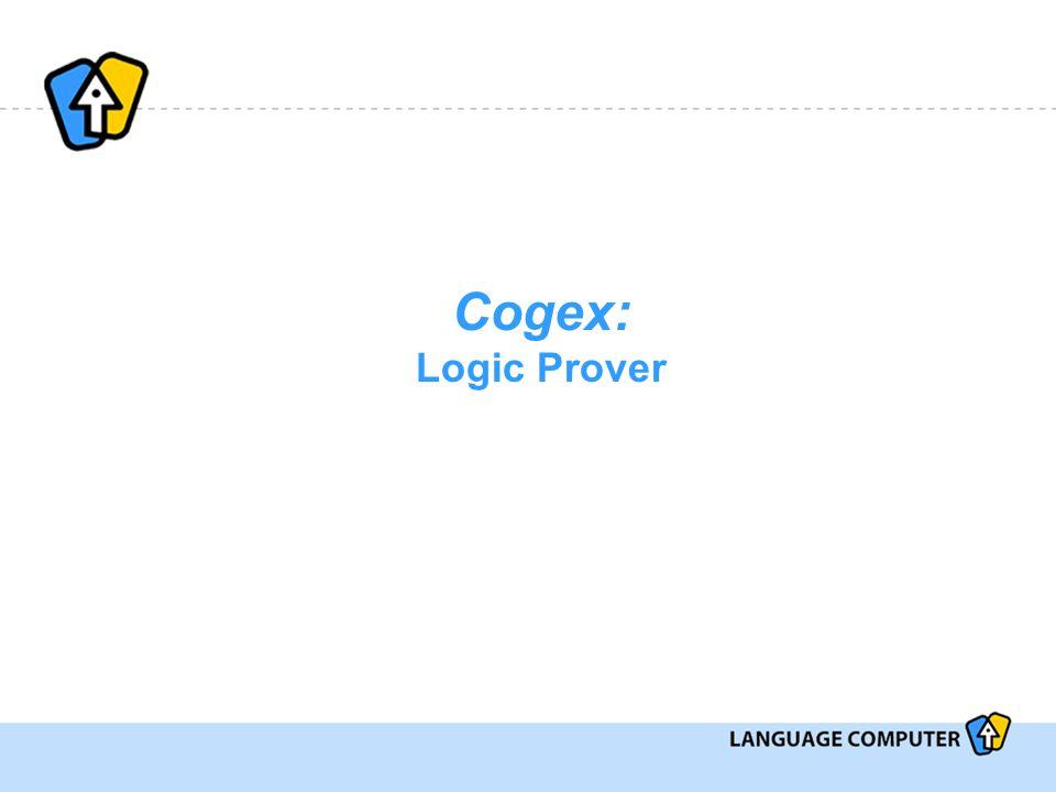Cogex: Logic Prover