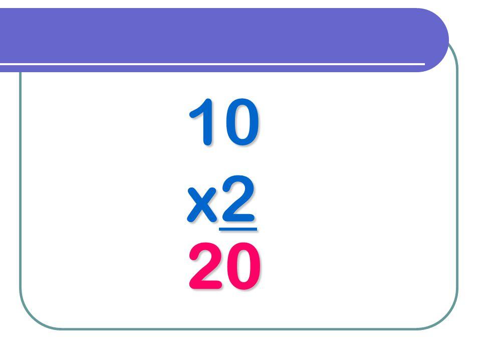 10 x2 20