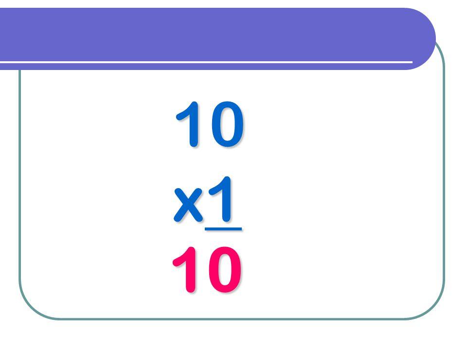10 x1 10