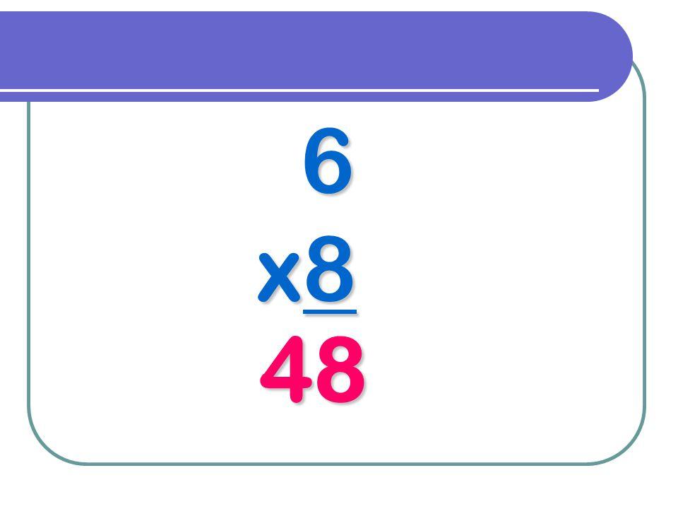 6 x8 48