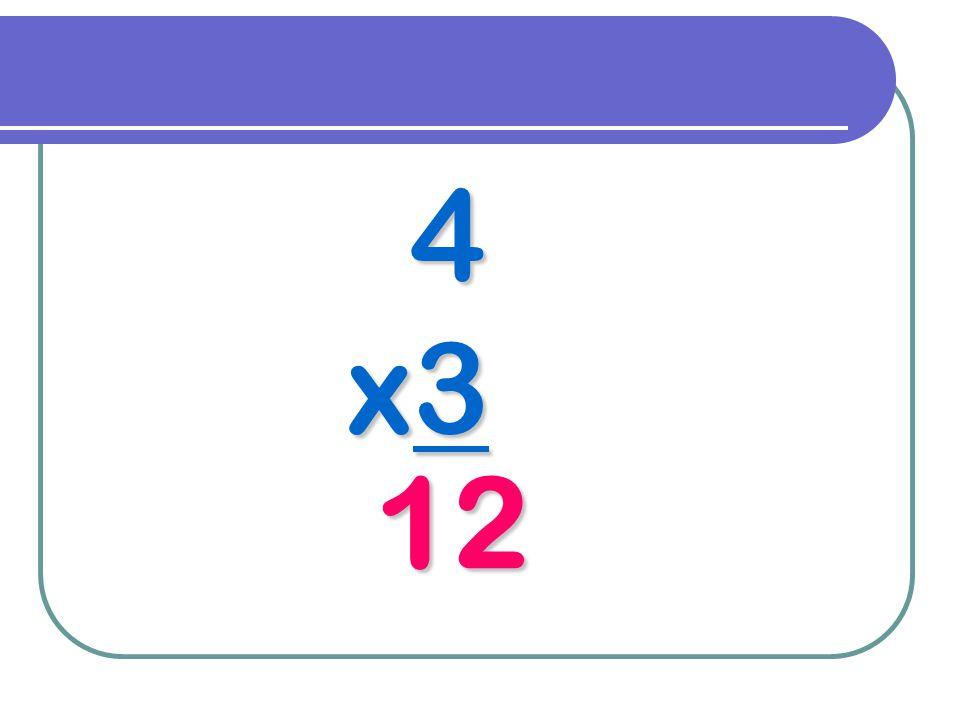 4 x3 12