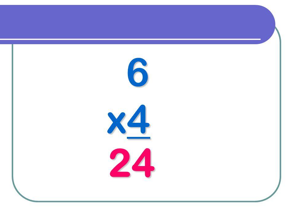6 x4 24