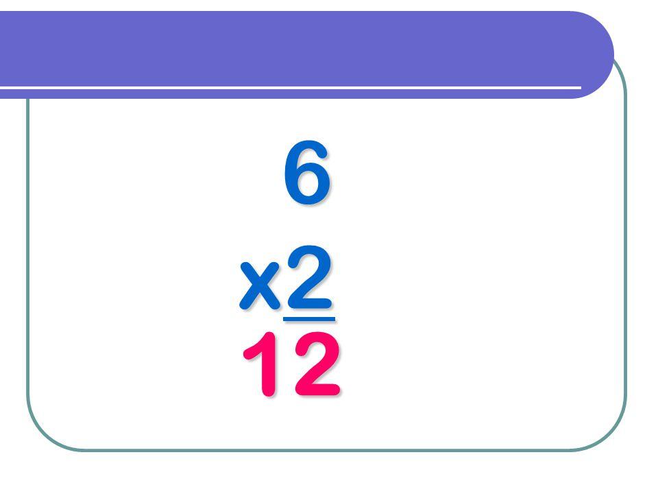 6 x2 12