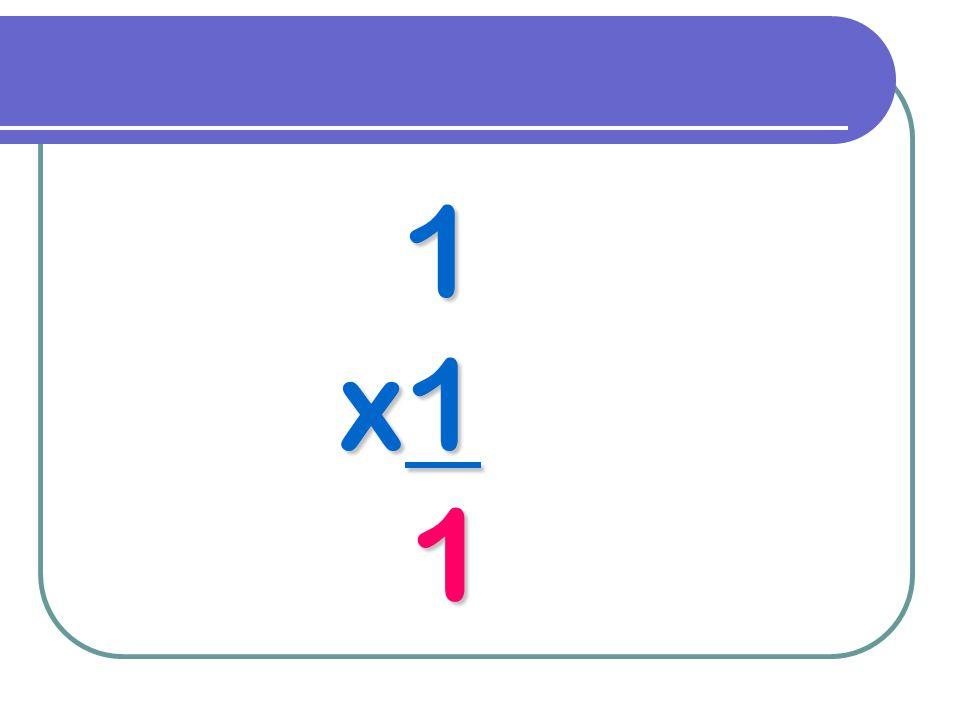 1 x1 1