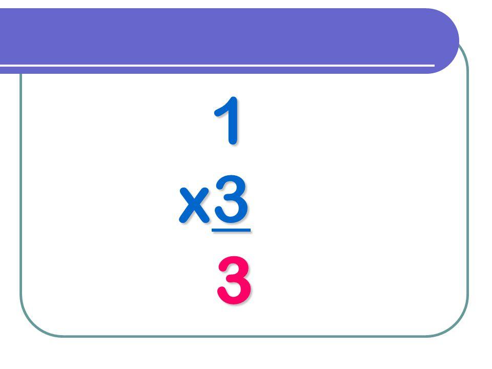 1 x3 3