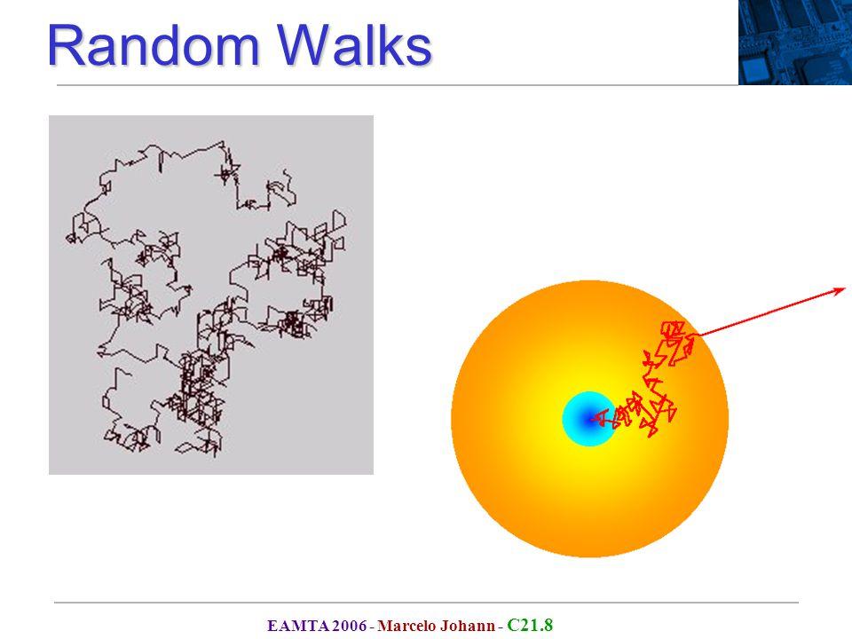 EAMTA 2006 - Marcelo Johann - C21.8 Random Walks