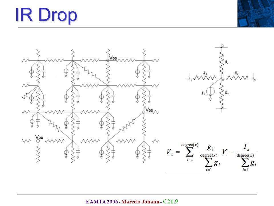 EAMTA 2006 - Marcelo Johann - C21.9 IR Drop