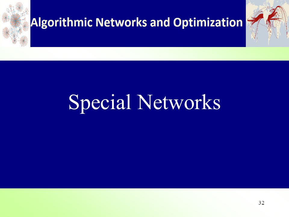 32 Special Networks