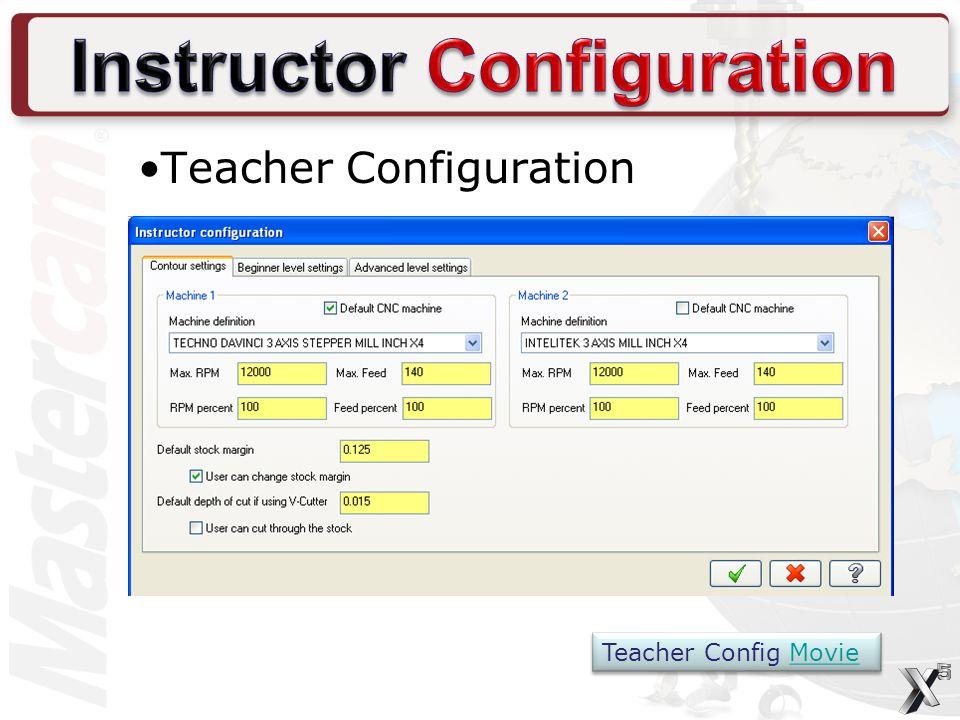 Teacher Configuration Teacher Config Movie Teacher Config Movie