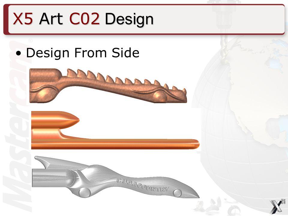 Design From Side X5 Art C02 Design