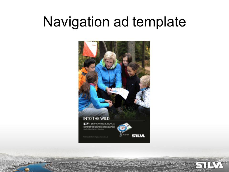 Navigation ad template