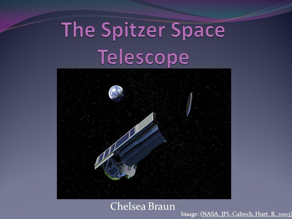 Chelsea Braun Image: (NASA, JPL-Caltech, Hurt, R, 2003)