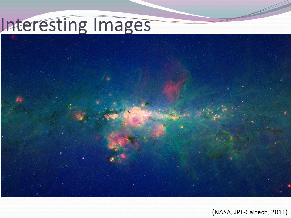 Interesting Images (NASA, JPL-Caltech, 2011)