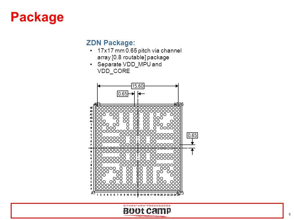 17 AM437x has numerous serial peripherals… 12 GP Timers & 1 watchdog timer –Free-running 32-bit upward counter.