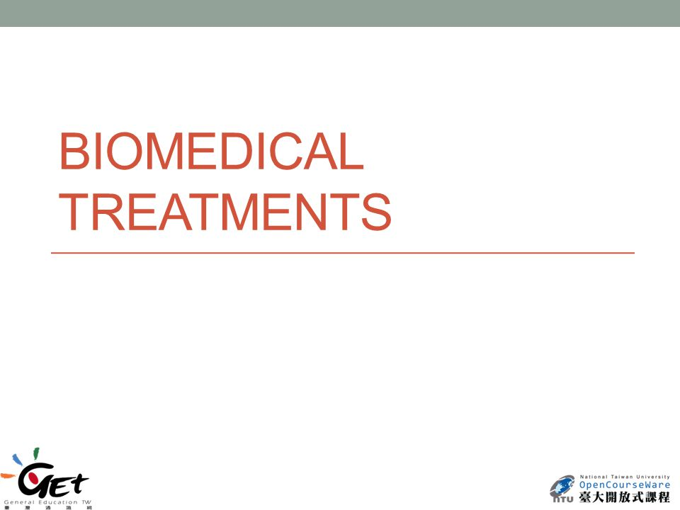 BIOMEDICAL TREATMENTS