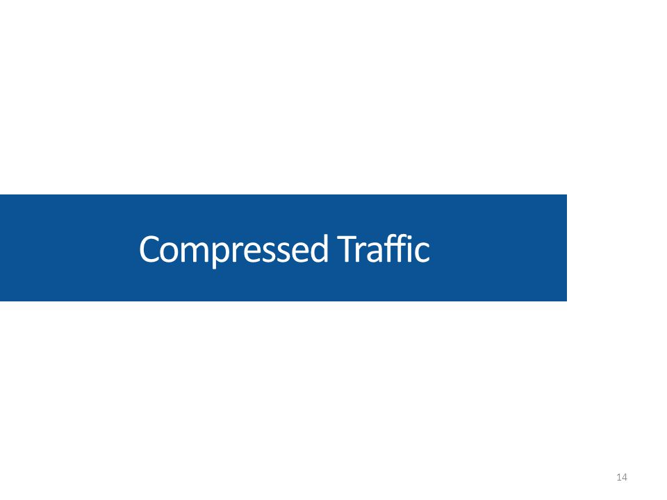 Compressed Traffic 14