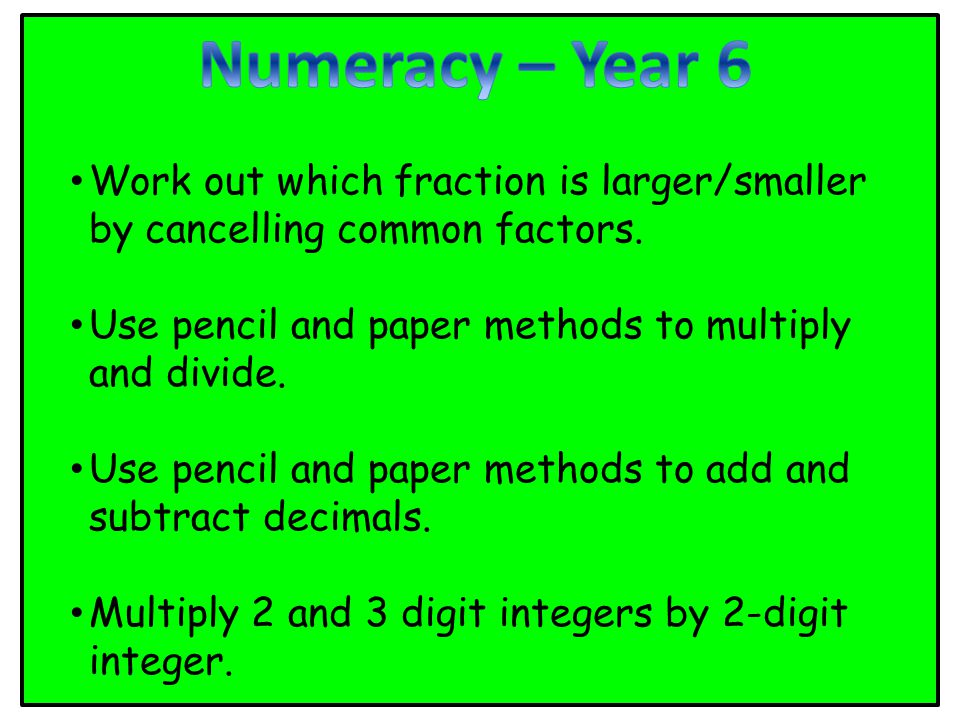 Work out which fraction is larger/smaller by cancelling common factors.