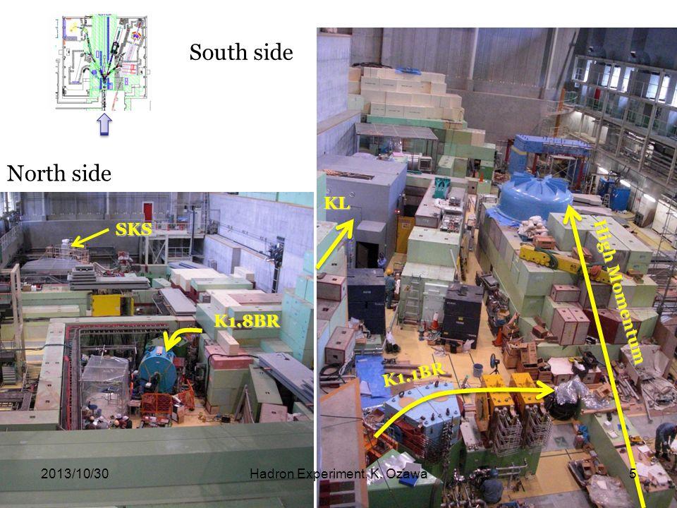 KL K1.1BR North side South side High Momentum SKS K1.8BR 2013/10/30Hadron Experiment, K. Ozawa5